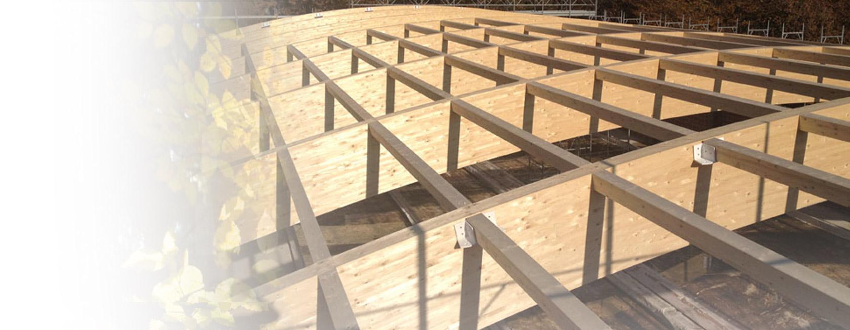 Tetti con illuminazione a led e travature in legno per for Centro assistenza velux