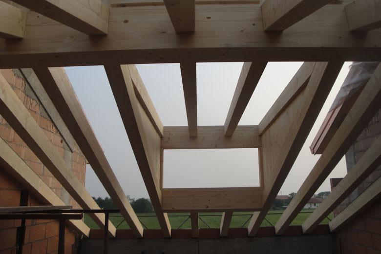 Realizzazione lucernari e abbaini per tetti in legno for Lucernari per tetti