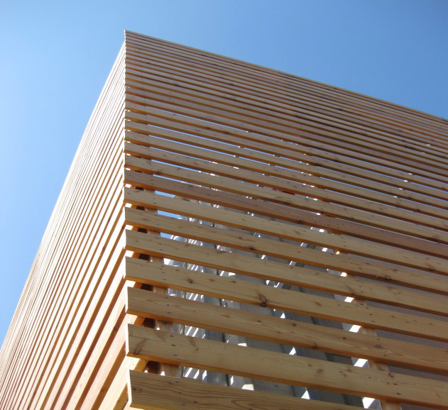Rivestimenti esterni in legno, facciate in legno - Veneta Tetti