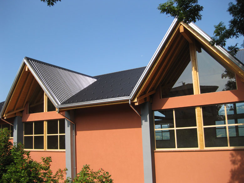 Rivestimento In Legno Per Facciate : Realizzazione rivestimenti in legno per facciate veneta tetti