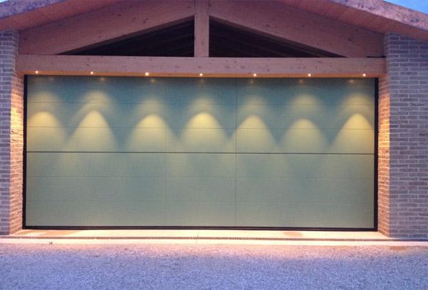 LED per soffitto in legno, illuminazione LED nel legno - Veneta Tetti