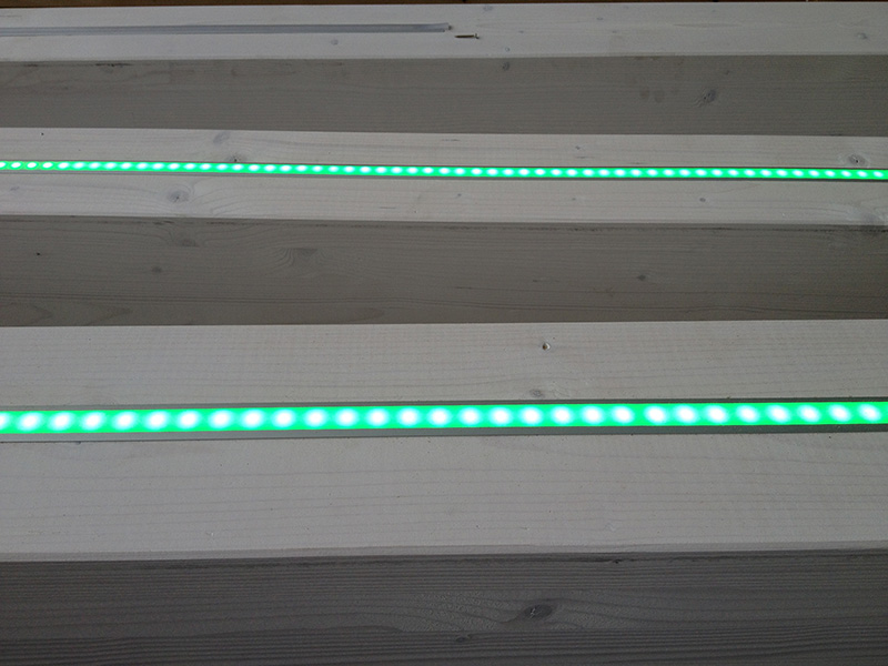 Strisce a led per travi illuminazione a led per travi in legno