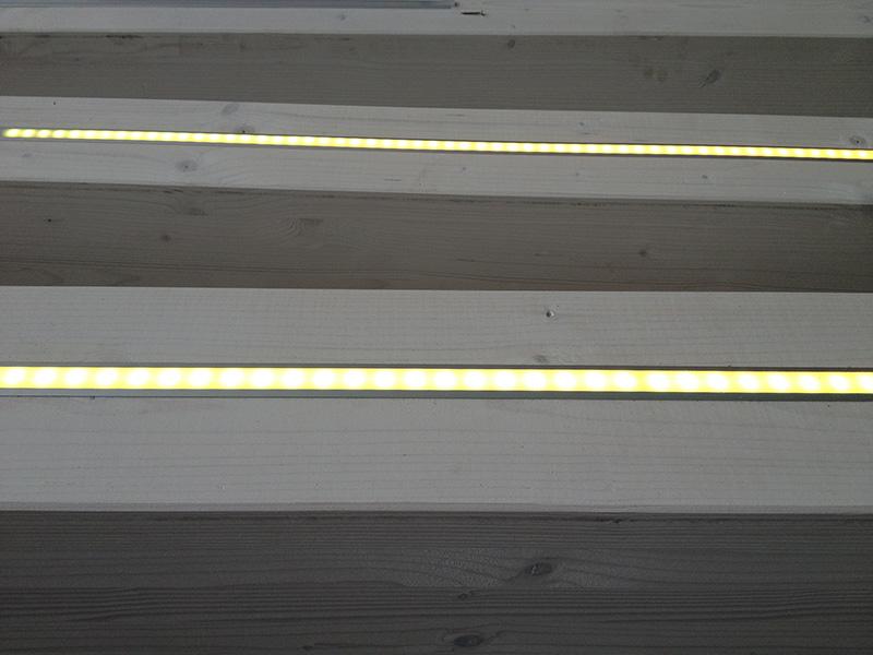 Led per tetti in legno c progettazione e realizzazione impianti a