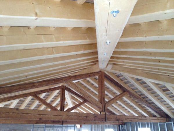 Illuminazione a led per tetti in legno impianti di illuminazione